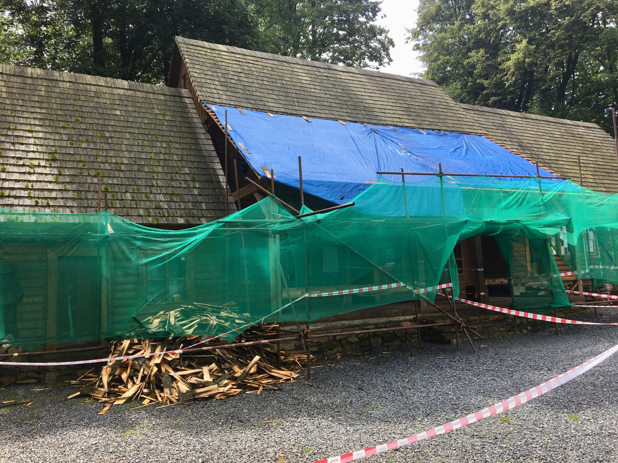 Sruby a mlýny dostanou nové střechy