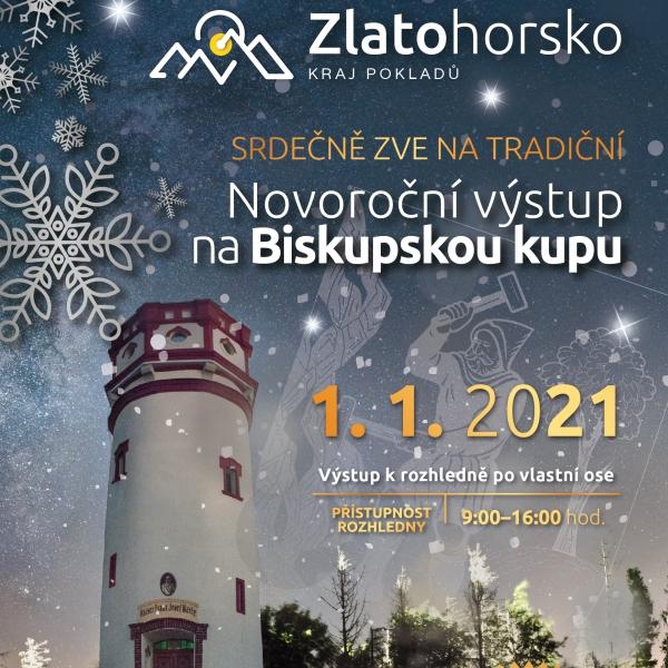 Novoroční výstup na Biskupskou kupu 2021 – ZRUŠENO!!!